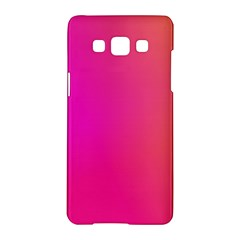 Pink Orange Yellow Ombre  Samsung Galaxy A5 Hardshell Case