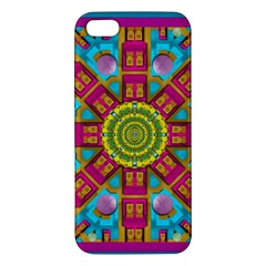 Sunny And Bohemian Sun Shines In Colors Apple Iphone 5 Premium Hardshell Case