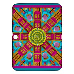 Sunny And Bohemian Sun Shines In Colors Samsung Galaxy Tab 3 (10 1 ) P5200 Hardshell Case
