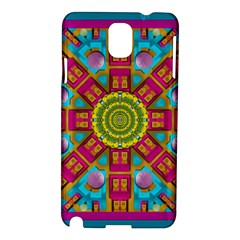 Sunny And Bohemian Sun Shines In Colors Samsung Galaxy Note 3 N9005 Hardshell Case