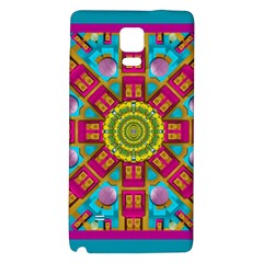Sunny And Bohemian Sun Shines In Colors Galaxy Note 4 Back Case