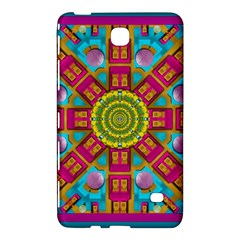 Sunny And Bohemian Sun Shines In Colors Samsung Galaxy Tab 4 (7 ) Hardshell Case