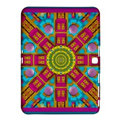 Sunny And Bohemian Sun Shines In Colors Samsung Galaxy Tab 4 (10 1 ) Hardshell Case