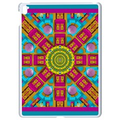 Sunny And Bohemian Sun Shines In Colors Apple Ipad Pro 9 7   White Seamless Case
