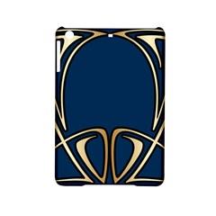 Art Nouveau,vintage,floral,belle ¨ poque,elegant,blue,gold,art Deco,modern,trendy Ipad Mini 2 Hardshell Cases