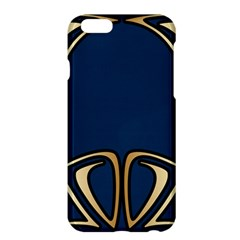 Art Nouveau,vintage,floral,belle ¨|poque,elegant,blue,gold,art Deco,modern,trendy Apple Iphone 6 Plus/6s Plus Hardshell Case