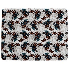 Pear Blossom Teal Orange Brown  Jigsaw Puzzle Photo Stand (rectangular)