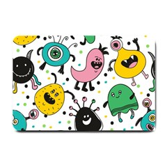 Cute And Fun Monsters Pattern Small Doormat