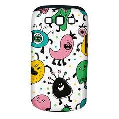Cute And Fun Monsters Pattern Samsung Galaxy S Iii Classic Hardshell Case (pc+silicone)
