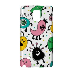 Cute And Fun Monsters Pattern Samsung Galaxy Note 4 Hardshell Case