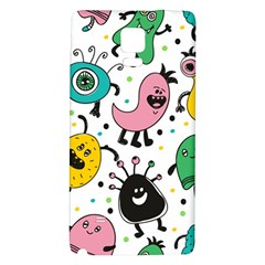 Cute And Fun Monsters Pattern Galaxy Note 4 Back Case