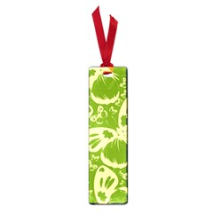 Pale Green Butterflies Pattern Small Book Marks