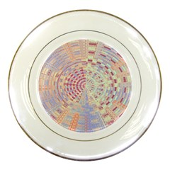 Gateway To Thelight Pattern  Porcelain Plates