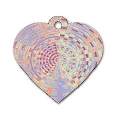 Gateway To Thelight Pattern  Dog Tag Heart (one Side)