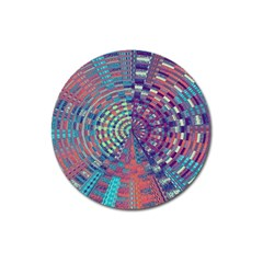 Gateway To Thelight Pattern 4 Magnet 3  (round)