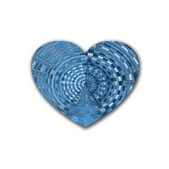 Gateway To Thelight Pattern 5 Heart Coaster (4 Pack)