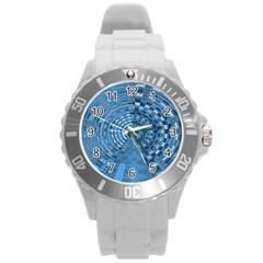 Gateway To Thelight Pattern 5 Round Plastic Sport Watch (l)