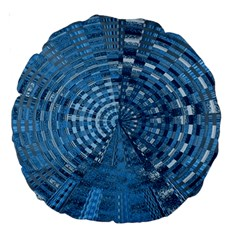 Gateway To Thelight Pattern 5 Large 18  Premium Round Cushions