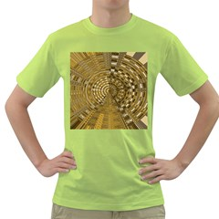 Gatway To Thelight Pattern 4 Green T Shirt