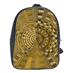 Gatway To Thelight Pattern 4 School Bag (xl)