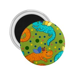 Colorful Dragons Pattern 2 25  Magnets