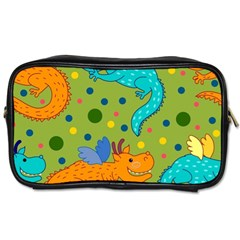 Colorful Dragons Pattern Toiletries Bags