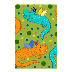Colorful Dragons Pattern Shower Curtain 48  X 72  (small)