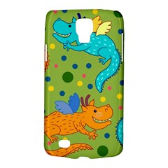 Colorful Dragons Pattern Galaxy S4 Active