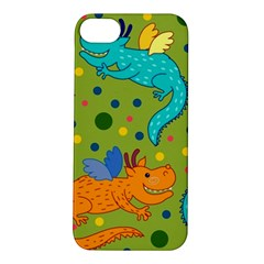 Colorful Dragons Pattern Apple Iphone 5s/ Se Hardshell Case