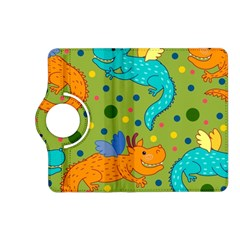 Colorful Dragons Pattern Kindle Fire Hd (2013) Flip 360 Case