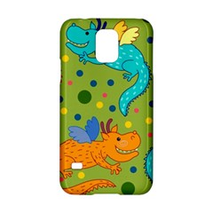 Colorful Dragons Pattern Samsung Galaxy S5 Hardshell Case