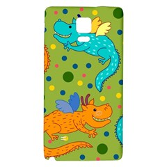 Colorful Dragons Pattern Galaxy Note 4 Back Case