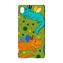 Colorful Dragons Pattern Sony Xperia Z3+