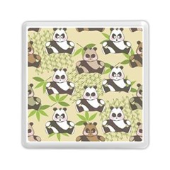 Fun Panda Pattern Memory Card Reader (square)