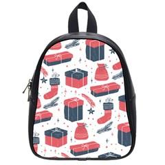 Christmas Gift Sketch School Bag (small)