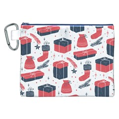 Christmas Gift Sketch Canvas Cosmetic Bag (xxl)