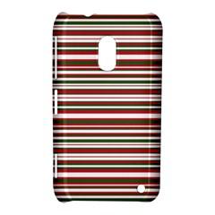 Christmas Stripes Pattern Nokia Lumia 620