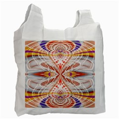Heart   Reflection   Energy Recycle Bag (two Side)