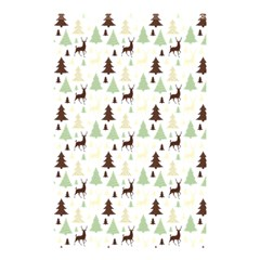 Reindeer Tree Forest Shower Curtain 48  X 72  (small)