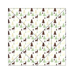 Reindeer Tree Forest Acrylic Tangram Puzzle (6  X 6 )