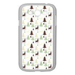 Reindeer Tree Forest Samsung Galaxy Grand Duos I9082 Case (white)