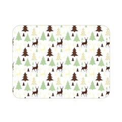 Reindeer Tree Forest Double Sided Flano Blanket (mini)