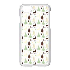 Reindeer Tree Forest Apple Iphone 7 Seamless Case (white)