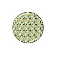 Reindeer Tree Forest Art Hat Clip Ball Marker