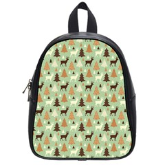 Reindeer Tree Forest Art School Bag (small)