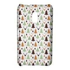 Reindeer Christmas Tree Jungle Art Nokia Lumia 620