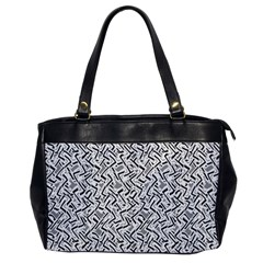 Wavy Intricate Seamless Pattern Design Office Handbags