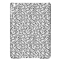 Wavy Intricate Seamless Pattern Design Ipad Air Hardshell Cases