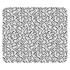 Wavy Intricate Seamless Pattern Design Double Sided Flano Blanket (small)