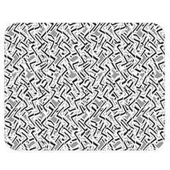 Wavy Intricate Seamless Pattern Design Double Sided Flano Blanket (medium)